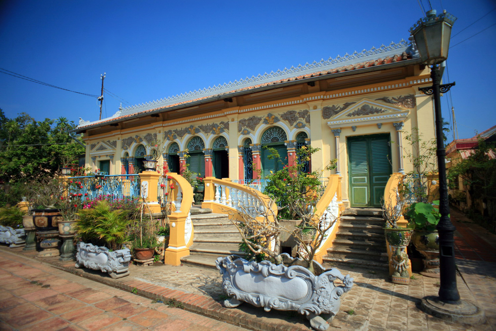 Maison ancienne Binh Thuy Can Tho