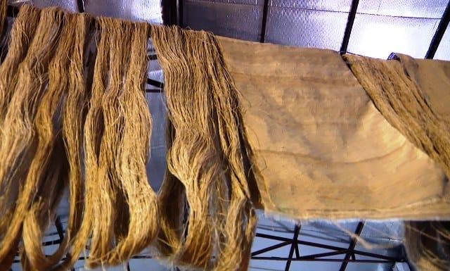 La soie de lotus haut de gamme de soierie vietnamienne trouvé dans ...